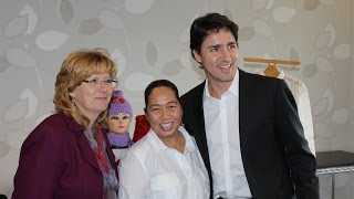 A Modest Effort for a Noble Cause by Filipinos in Brampton; Justin Trudeau is Guest