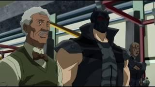 Еретик с подручными нападают на Weyne Tech  (Бэтмен: Дурная кровь)