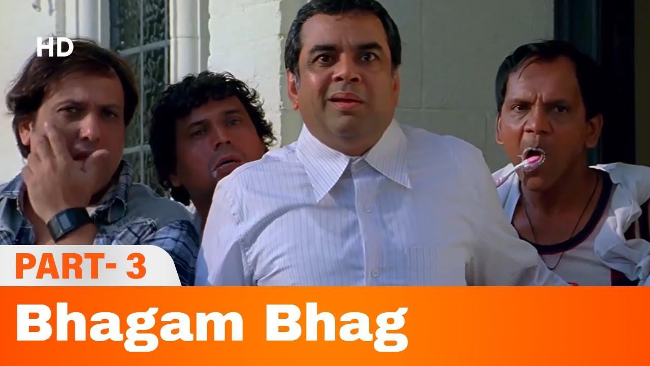 Download Bhagam Bhag (2006) -  Part 3 | Akshay Kumar, Govinda, Paresh Rawal | Bollywood Comedy Movie