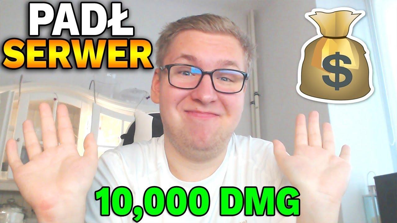 WYWALIŁO SERWER, A ON ZROBIŁ 10,000 DMG !!!