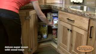 Lazy Susan Base Cabinet - Showplace Kitchen Convenience Accessories