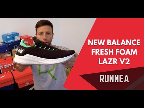 New Balance Fresh Foam Lazr V2: Review y opinión ? I Runnea