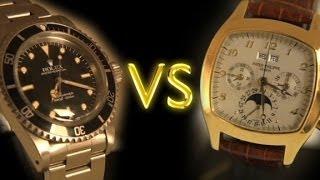 Are you a Rolex or a Patek?
