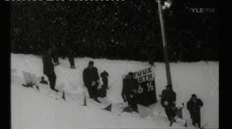 Hiihdon MM-Kisat Lahti 1958 Mäkihyppy