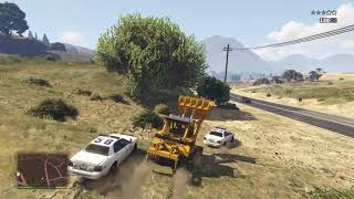 Gta free play with dump truck & tractor