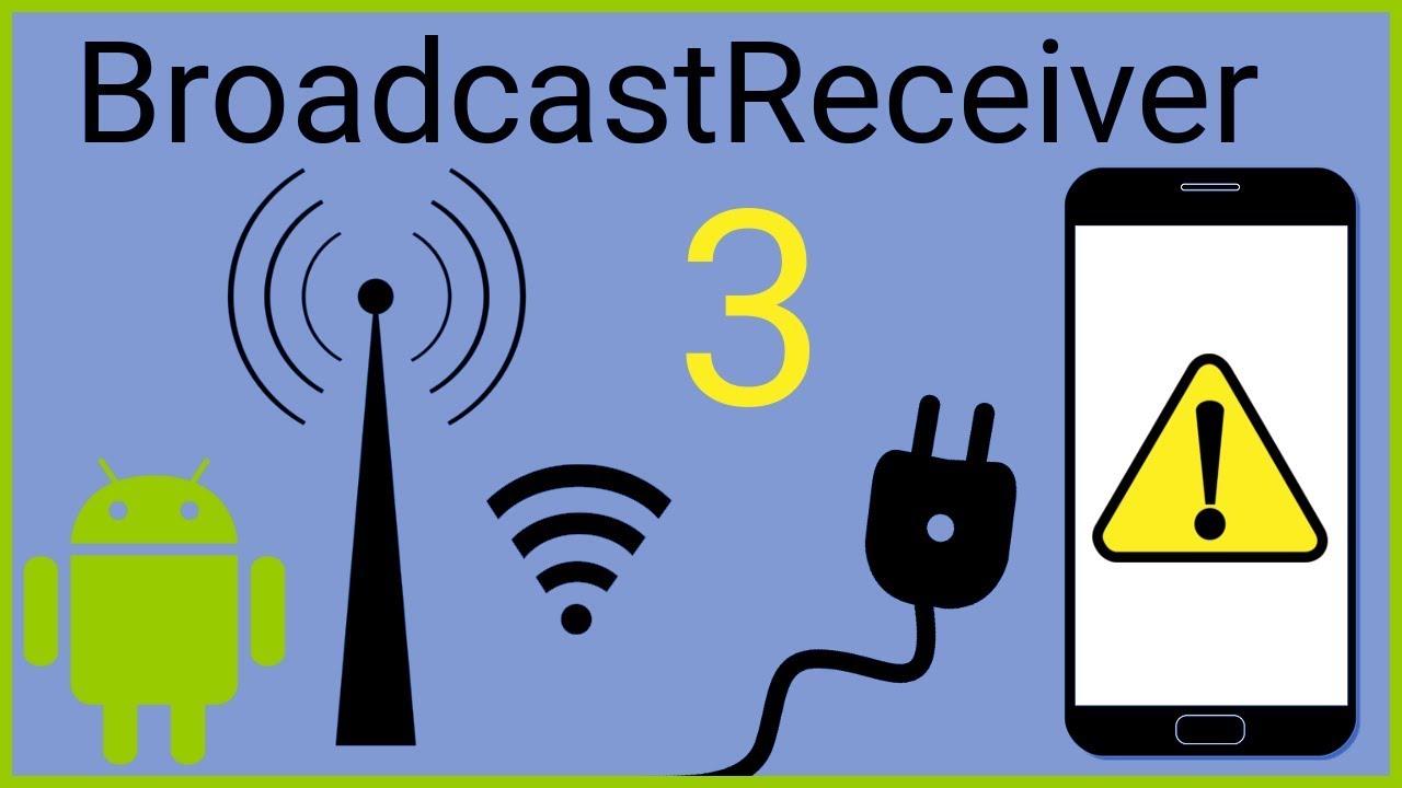 BroadcastReceiver Tutorial Part 3 - CUSTOM BROADCASTS - Android Studio  Tutorial