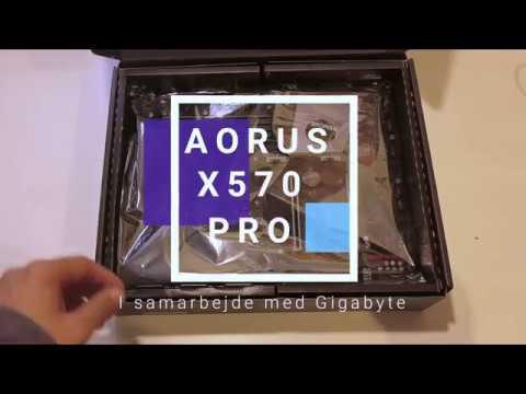 AORUS X570 Pro Unboxing