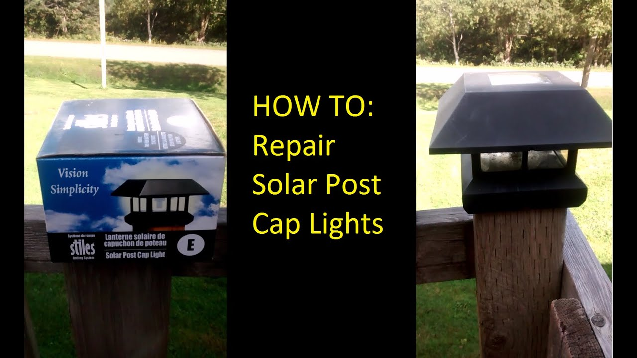 Outside Solar Lights How To Fix Or Repair Patio Solar Lights