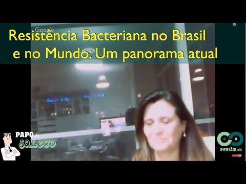 Resistência Bacteriana no Brasil e no Mundo: Um panorama atual