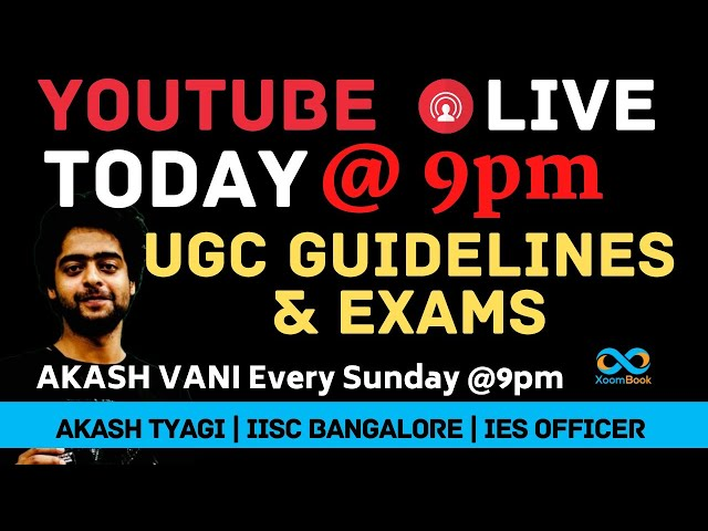 AKASH TYAGI LIVE  FOR UGC LATEST NEWS & #StudentsLivesMatter | #NoMoreWaitUGC  FINAL YEAR EXAMS
