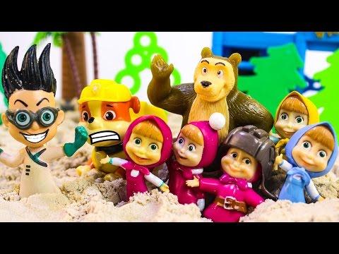 Щенячий патруль новые серии Развивающие мультики Маша и Медведь Игрушки для детей Маша и Мишка