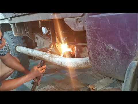 "Chassis Repair ""Suzuki Multi Cab"" DIY"