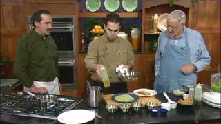 Kcts 9 Chefs, 2007: Ginger And Scallion Crusted Salmon With Succotash