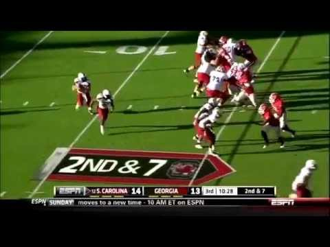 Jarvis Jones vs. So. Carolina - 2011