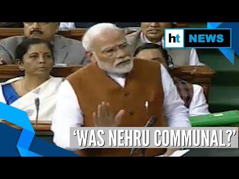 'Was Nehru communal?': PM Modi cites partition to attack Congress over CAA