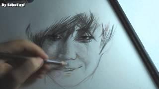 "[Speed Drawing] kpop fanart by SakuTori Lee Joon MBLAQ ""Rough Play"""
