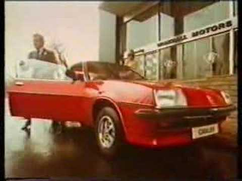 Patrick Macnee  John Steed  The Avengers Vauxhall Advert