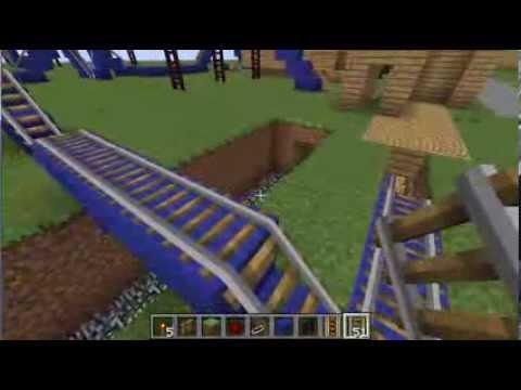ep 4 construction suivie d 39 un parc d 39 attraction sur minecraft youtube. Black Bedroom Furniture Sets. Home Design Ideas