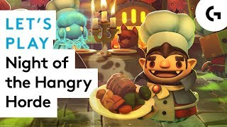 Overcooked 2 Night of the Hangry Horde let's play - UNBREAD NIGHTMARE