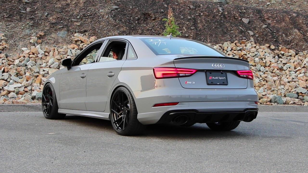 2018 Audi RS3 BullX Exhaust