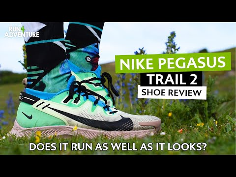 NIKE PEGASUS TRAIL 2 Shoe Review | Best trail running shoe? | Run4Adventure