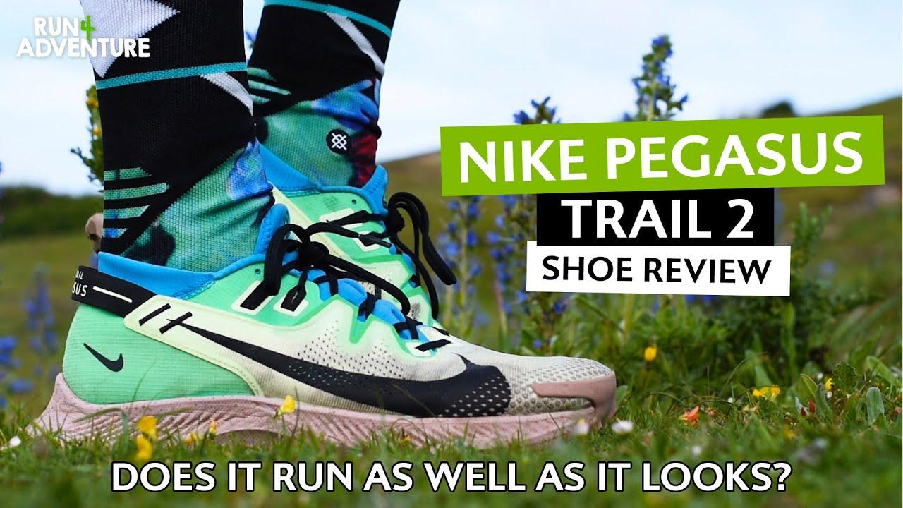 NIKE PEGASUS TRAIL 2 Shoe Review | Best trail running shoe? | Run4Adventure