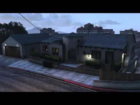 GTA 5 VINEWOOD HILLS HOUSE 2 XBOX ONE