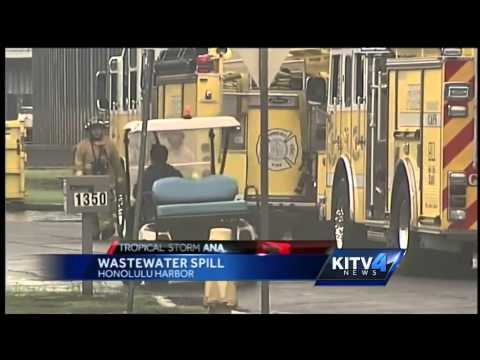 5,000 gallons wastewater in Honolulu Harbor