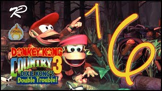 Let's Play Together Donkey Kong Country 3 [103%] feat.kphomelp Part 16: Der wütende Schneemann