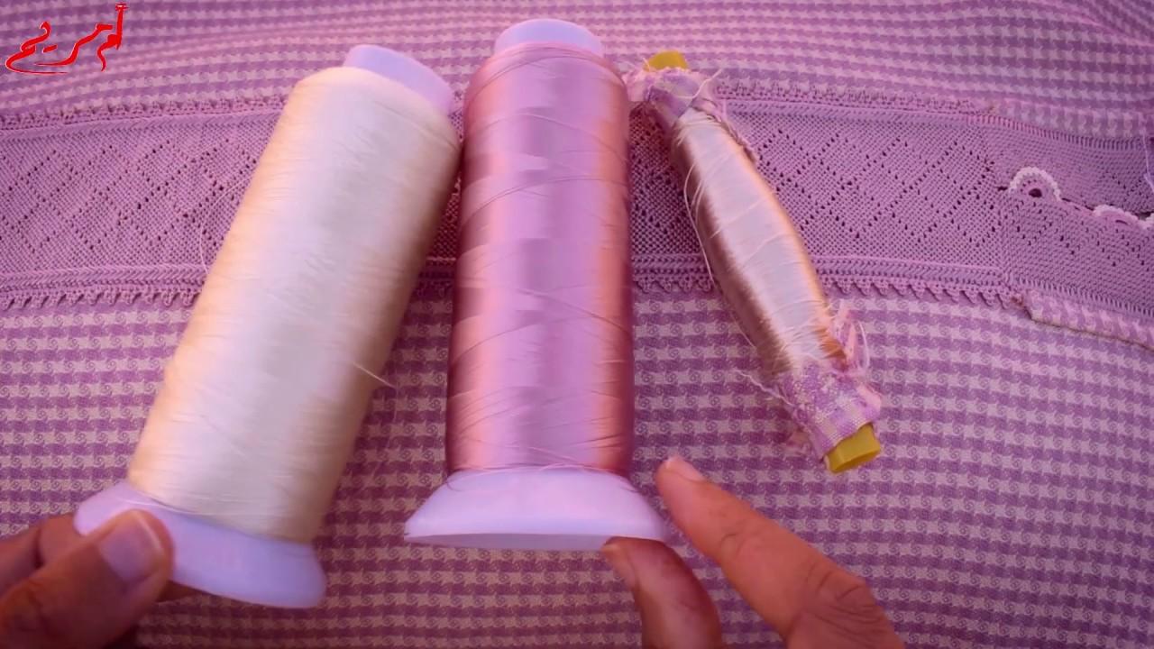 علاش خدمت الراندة بالحرير المبروم ( ديال الطرز الرباطي)عوض الحرير العادي حرير القصبة مع ام مريم