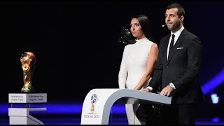 Алсу и Иван Ургант. Церемония Жеребьевки Чемпионата Мира по футболу-2018