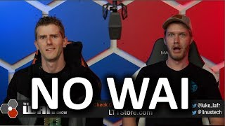 Apple FINALLY a Good Guy?? - WAN Show Aug 30, 2019
