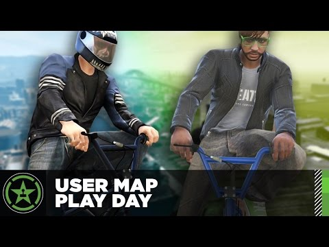 Let's Play – GTA V – User Map Play Day
