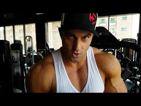 Arash Rahbar At Oxygen Gym Kuwait !