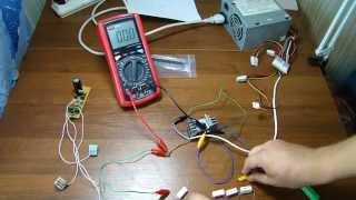 обзор диодов шоттки  с общим анодом и общим катодом. Тест транзистора 13007
