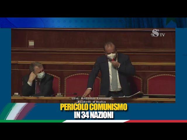 Il Senatore Iannone interviene in discussione generale