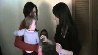 Confused Baby Meets her Mom's Twin Sister: Are you my Mother?