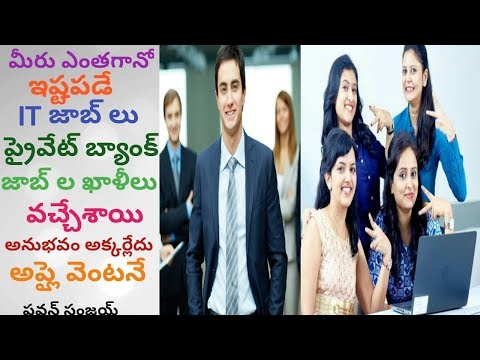 Local Jobs - IT & Bank Jobs for Freshers immediately | in Telugu By Pa1 - Job Search