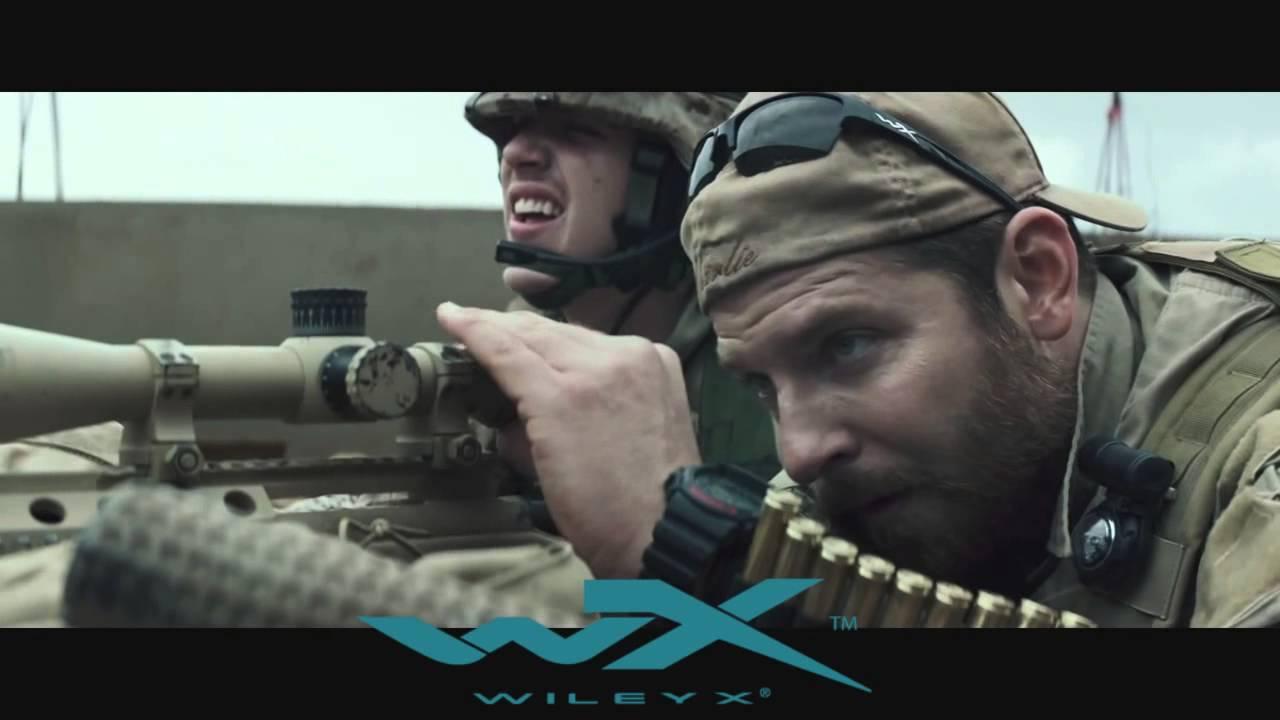 0b4ce6e5ff WileyX - Saint Zonnebril - American Sniper - YouTube