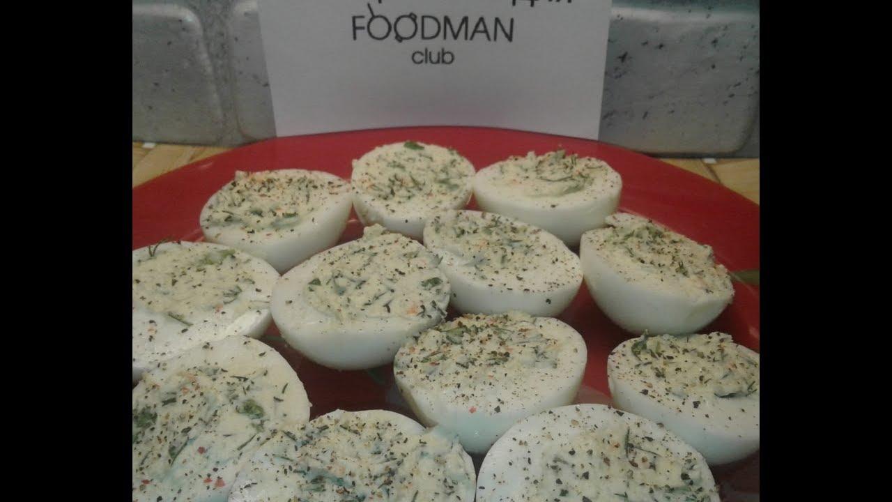 Яйца, фаршированные маслом с чесноком и морковью: рецепт от Foodman.club