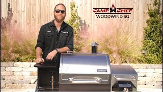 Camp Chef Woodwind SG Wood Fired Pellet Grill Overview | BBQGuys.com