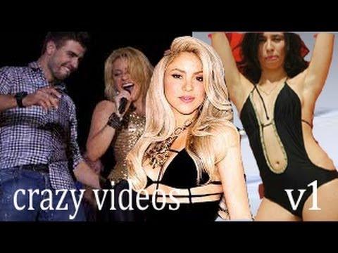 crazy videos-v1/  ردة فعل شاكيرا بعد تصريح سينا