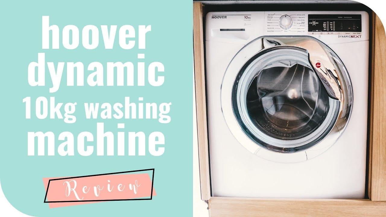 Hoover Dynamic Next DXOA410C3 10Kg Washing Machine Review - YouTube