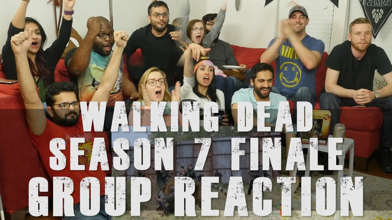 Download The Walking Dead - 7x16 The First Day of the Rest of your Life - Group Reaction