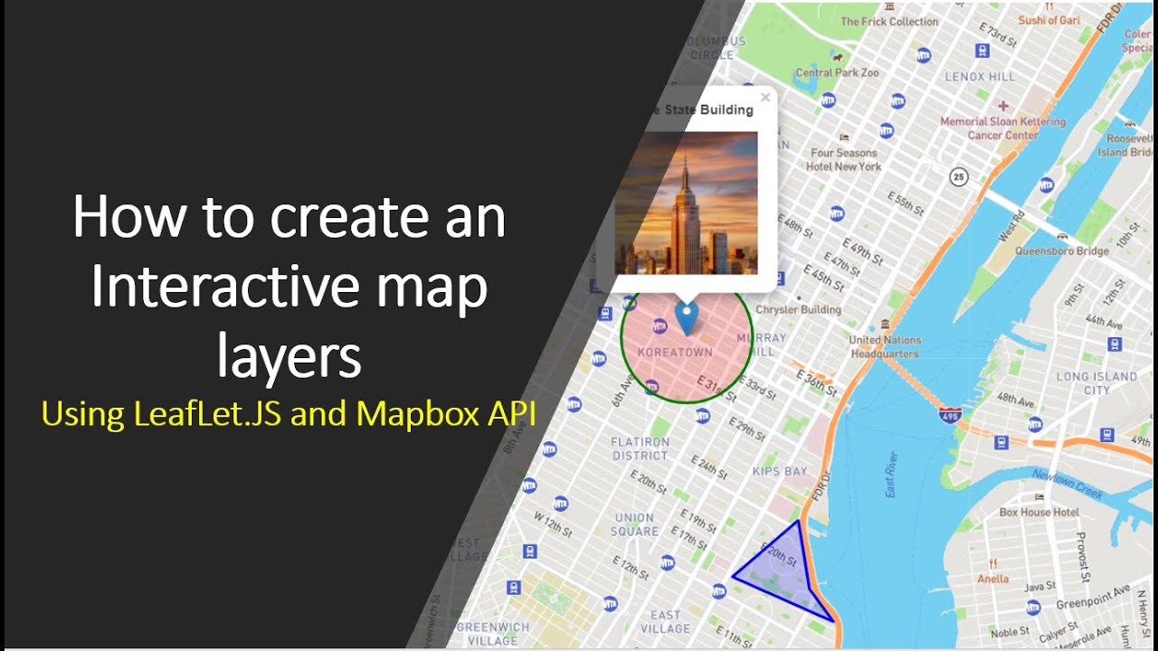 How to create an Interactive map layers