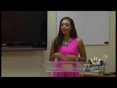 Miss Curaçao 2015 - Curaçao Tourism Presentation
