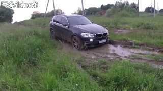 BMW X5 off road test - part2(BMW X5 F15 2014 г.в. - 249 л.с. - 3.0 TD Автоматическая 8-ступ. коробка передач. Резина: Dunlop sp sport maxx R21 зад: 325/30 R21 перед: 285/30..., 2015-09-01T19:58:37.000Z)