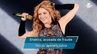 El proceso penal contra Shakira deriva de una querella de la Fiscalía española, que la acusa de seis delitos contra la Hacienda pública