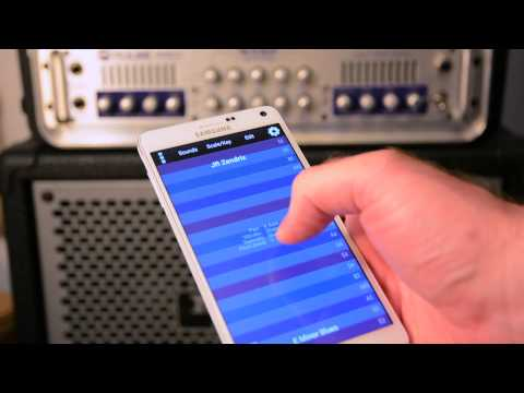 ThumbJam on Galaxy Note 4 (with Samsung Soundcamp)