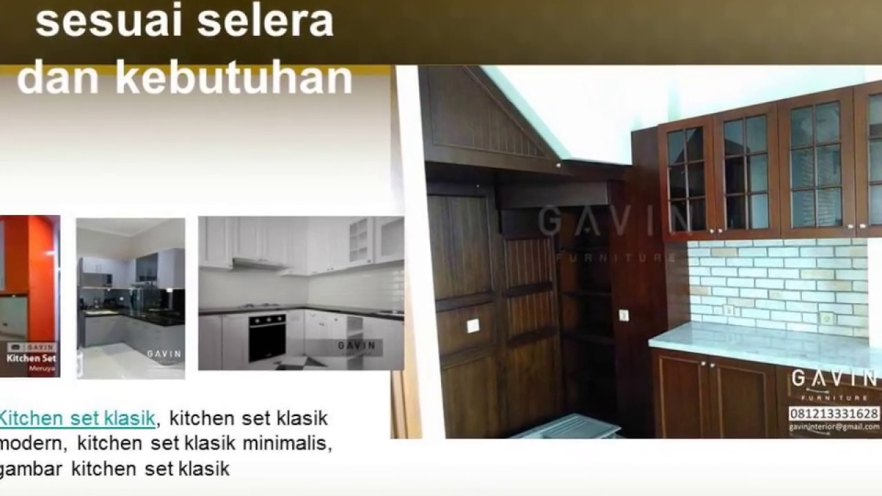0812 1333 1628 Tsel Design Kitchen Set Minimalis Youtube